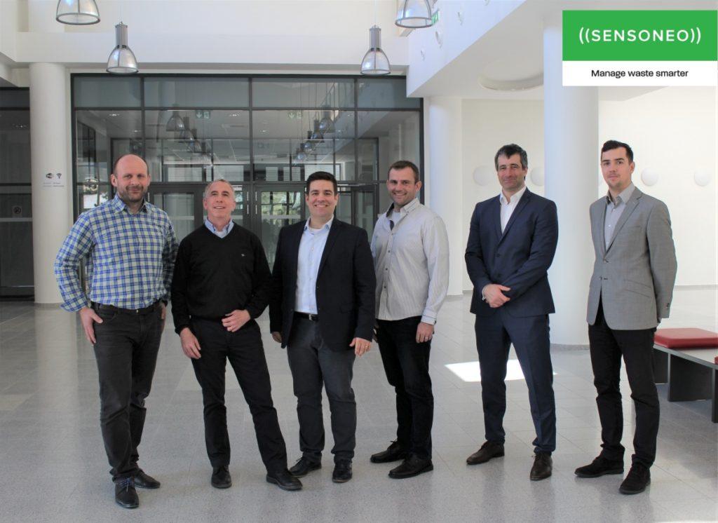 Slovenské Sensoneo poskytujúce globálne inteligentné riešenia pre správu odpadu