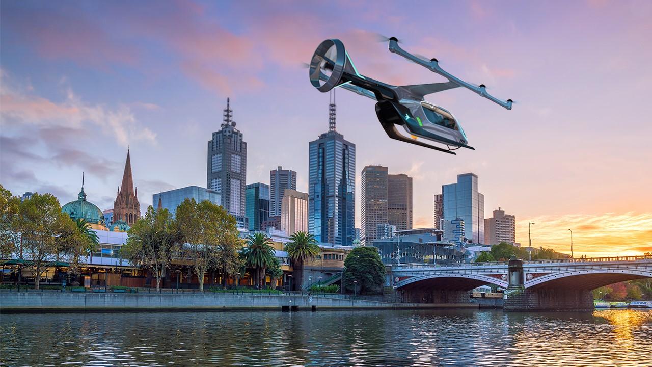 V Melbourne začne lietať prvá letecká taxislužba Uber Air