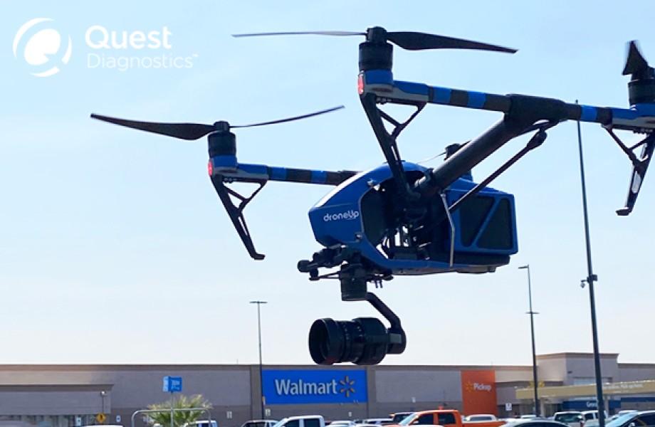 Drony dovezú samotestovacie súpravy na COVID-19 až domov