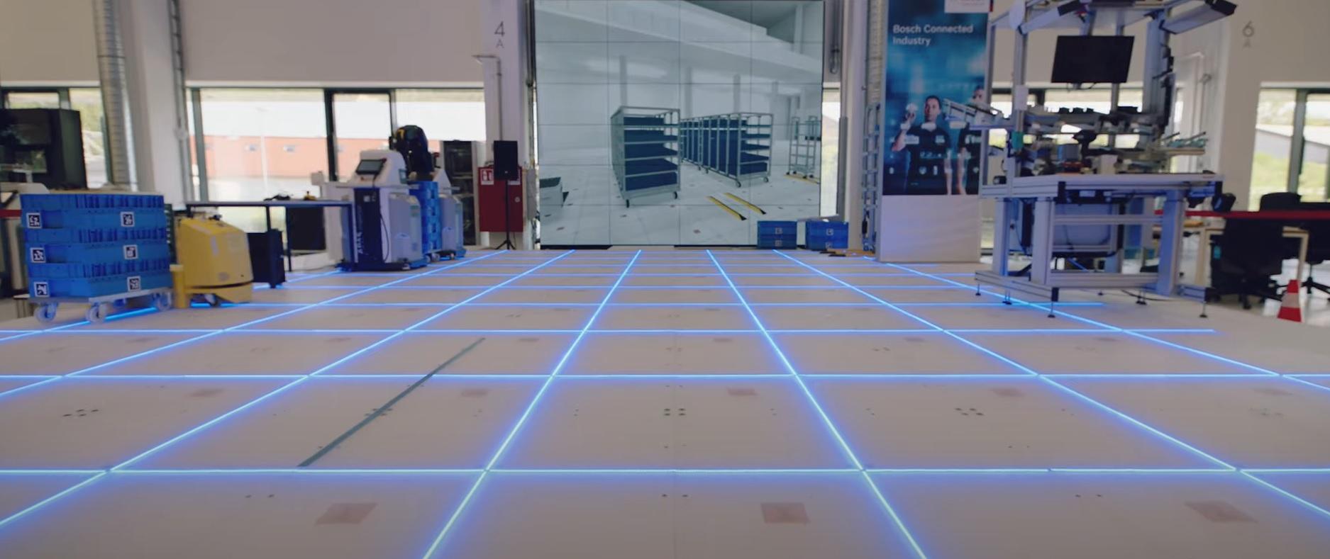 Továreň budúcnosti počíta s inteligentnou podlahou